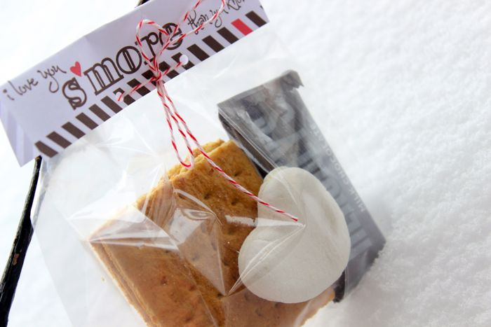 s'more valentines day printables