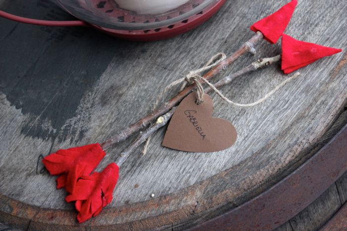 diy cupids arrow