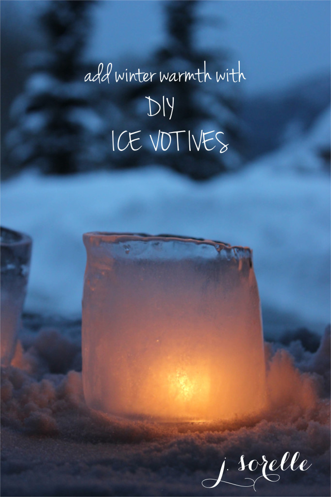 winter warmth ice votives