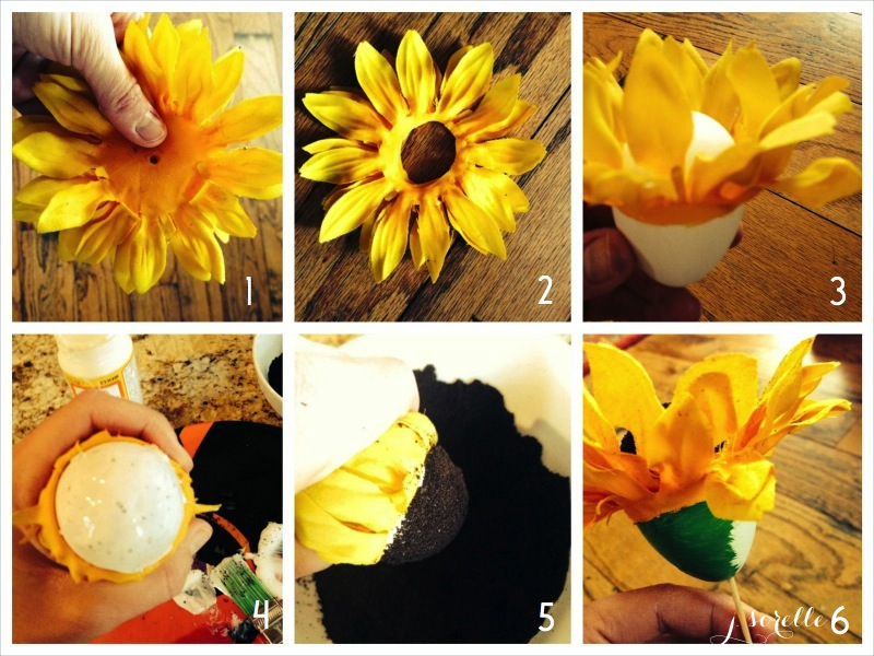 egg sunflower 6steps_