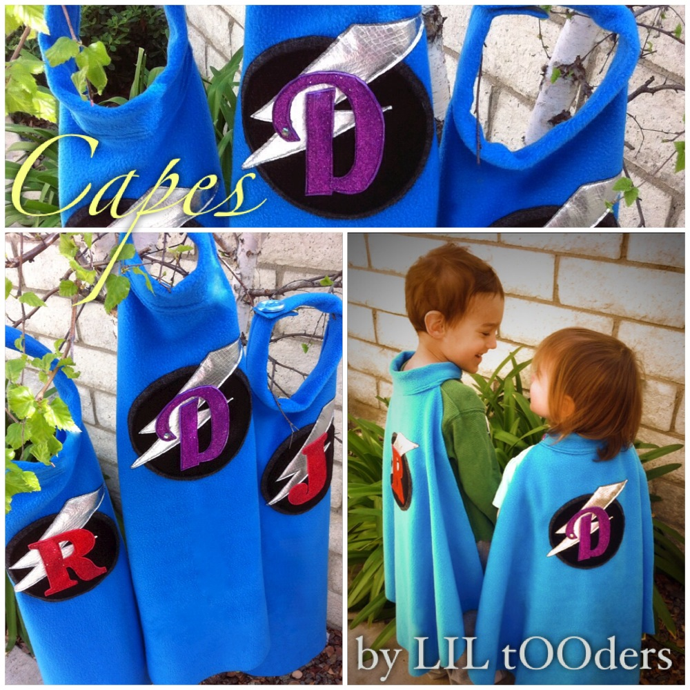 little tooders boys capes