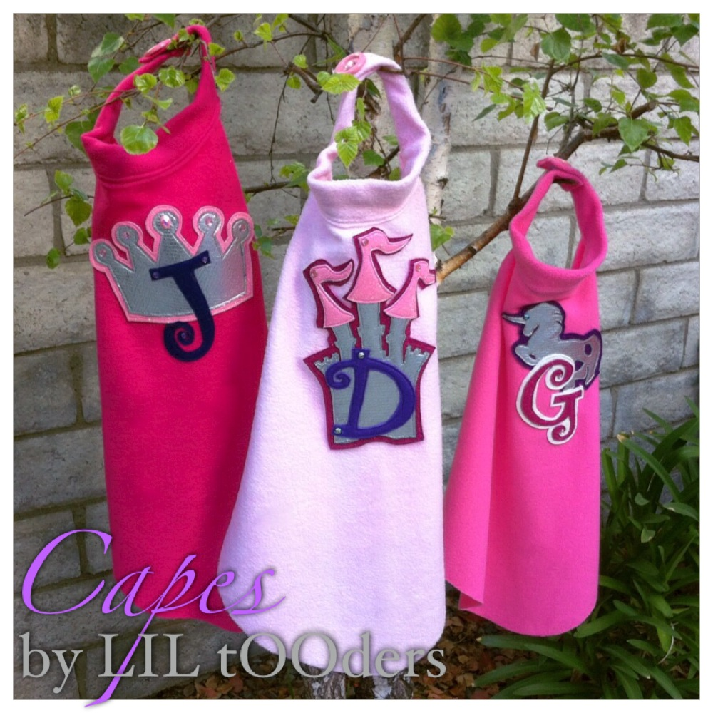 little tooders girls capes