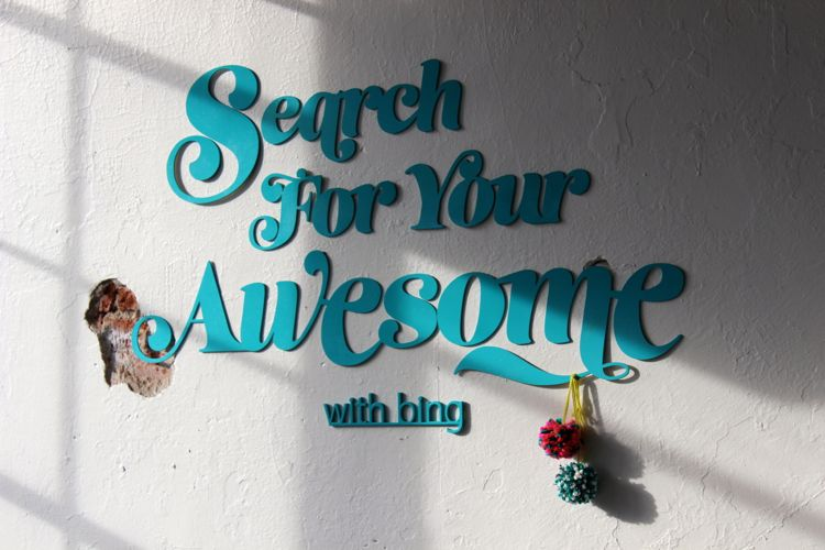 search for your awesome with bing and the alison show in denver