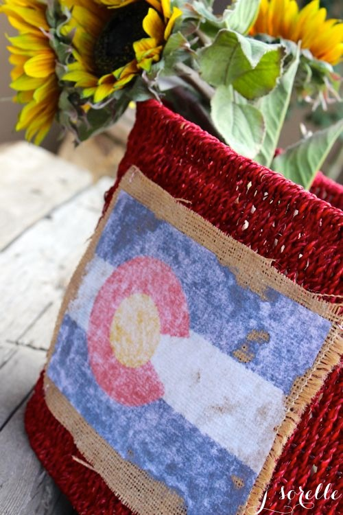 colorado burlap flag diy_jsorelle
