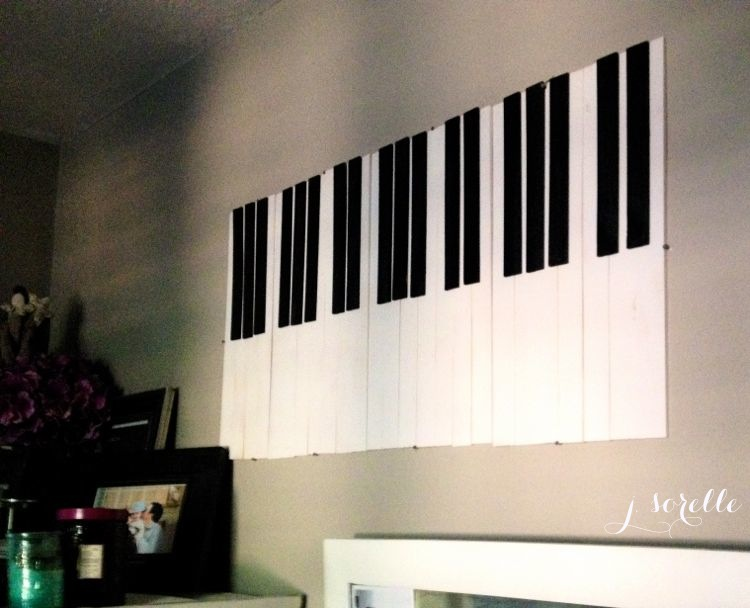 diy piano keys