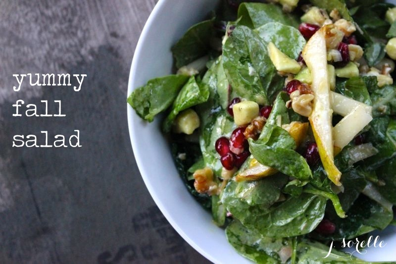 fall salad recipe_jsorelle