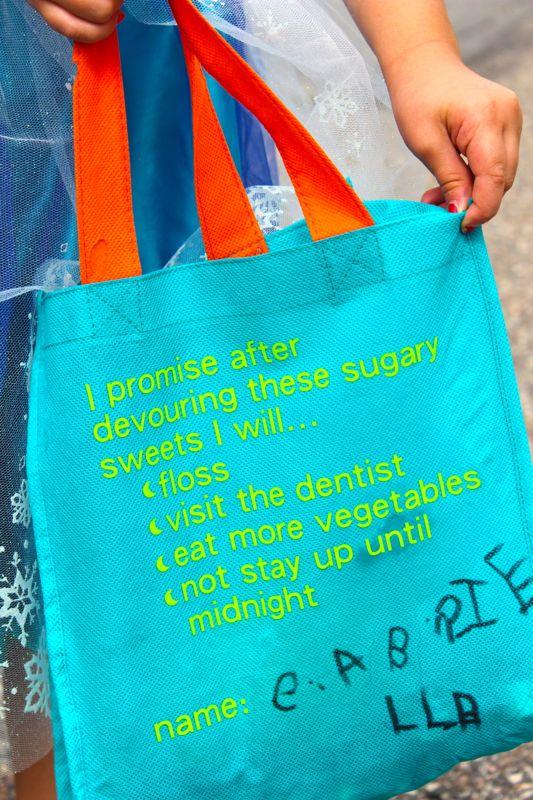 DIY trick or treat bag_jsorelle