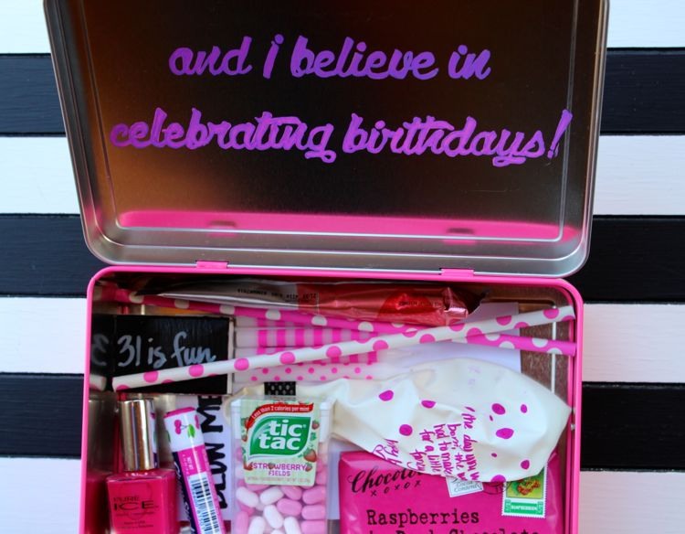 i believe in pink birthday gift_jsorelle