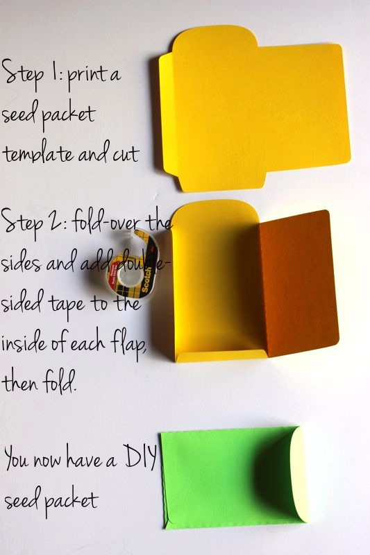 DIY seed packets_Astrobrights Papers