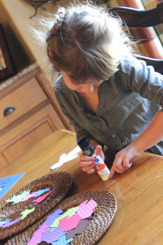 DIY scarecrow dress up_astrobrights papers