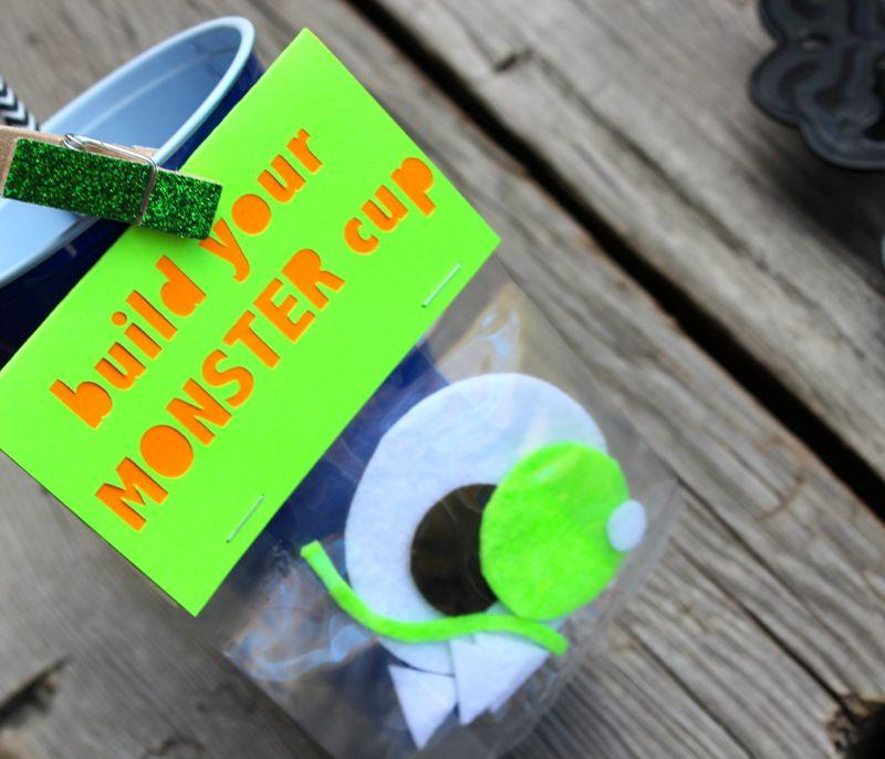 DIY halloween monster cups_jsorelle