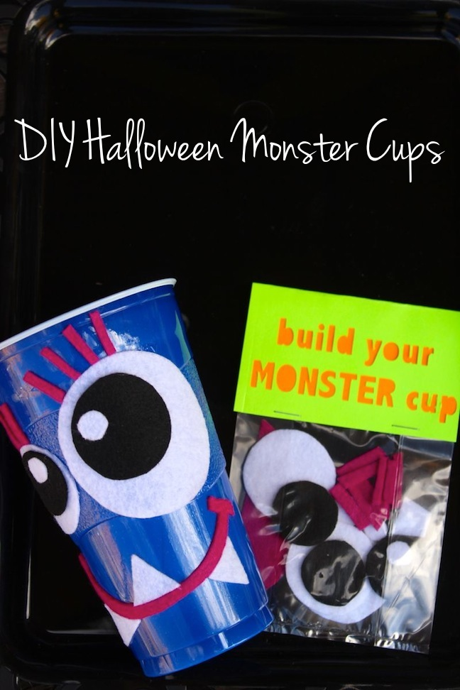 diy monster halloween cups_jsorelle