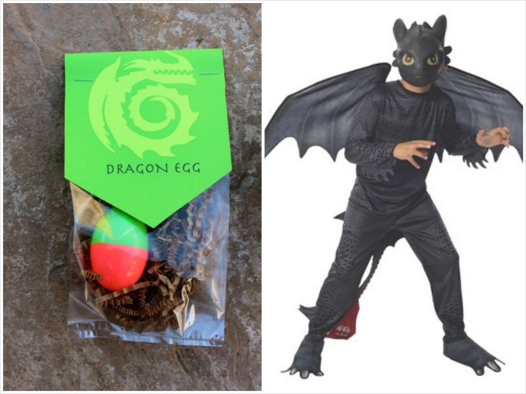 toothless costume and favor