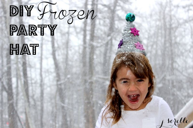 diy frozen party hat_jsorelle