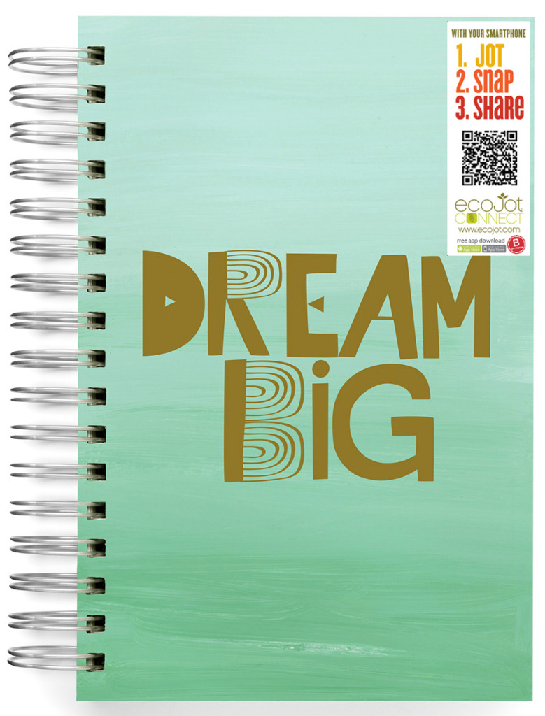 DreamBig-journal-ecojot journal