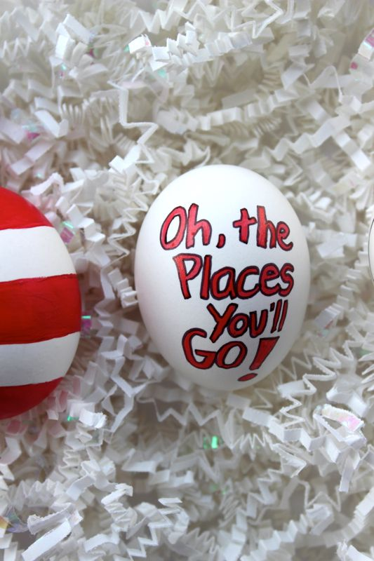 oh the places you'll go-drseuss-easter-eggs-diy-kid