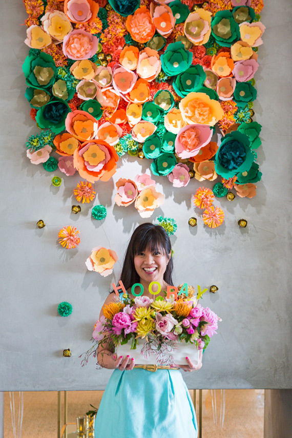 diy-paper-flower-wall-oh-joy-cascading-flower-display-spring-party