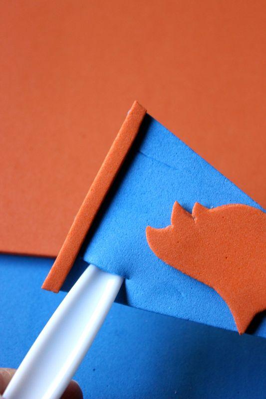blue-orange-bronco-football-pennant-diy-drink-stirrer-yay-go-helmet-banner-utensil