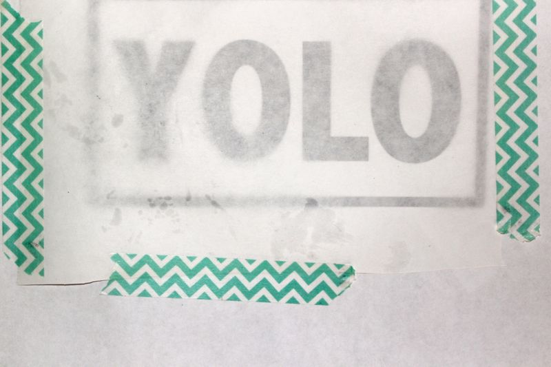 YOLO-freezer-paper-washi-tape