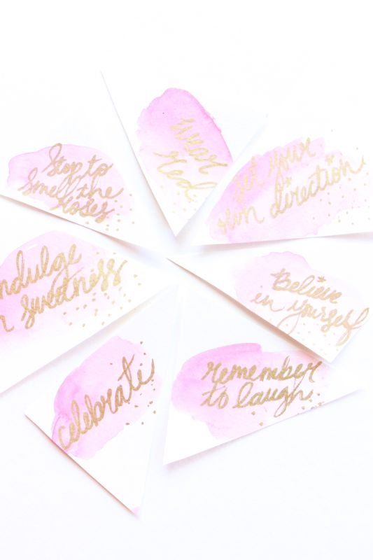 pink-watercolor-tags-gold-diy