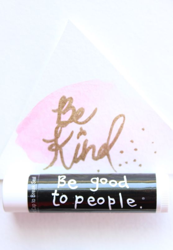 be-kind-be-good-to-people-chapstick-pink-watercolor-tags-diy-gift