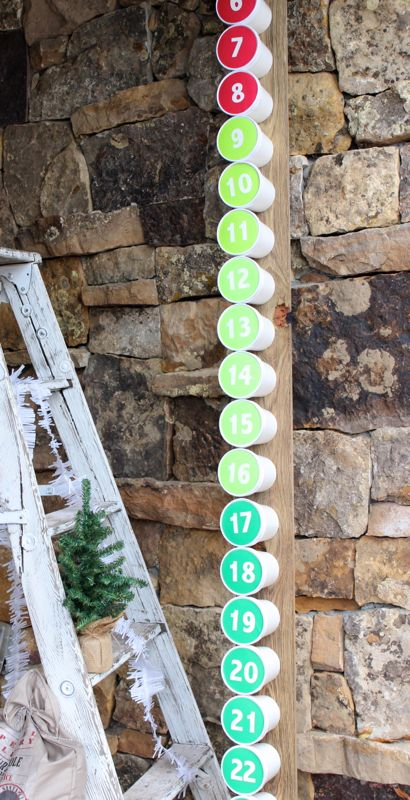 diy-advent-calendar-red-green-christmas-girl-ladder-holiday