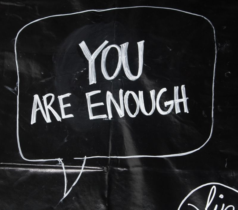 you-are-enough-chalkboard-inspiration