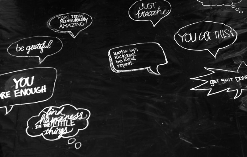 black-white-chalkboard-you-are-enough-conversation-bubble