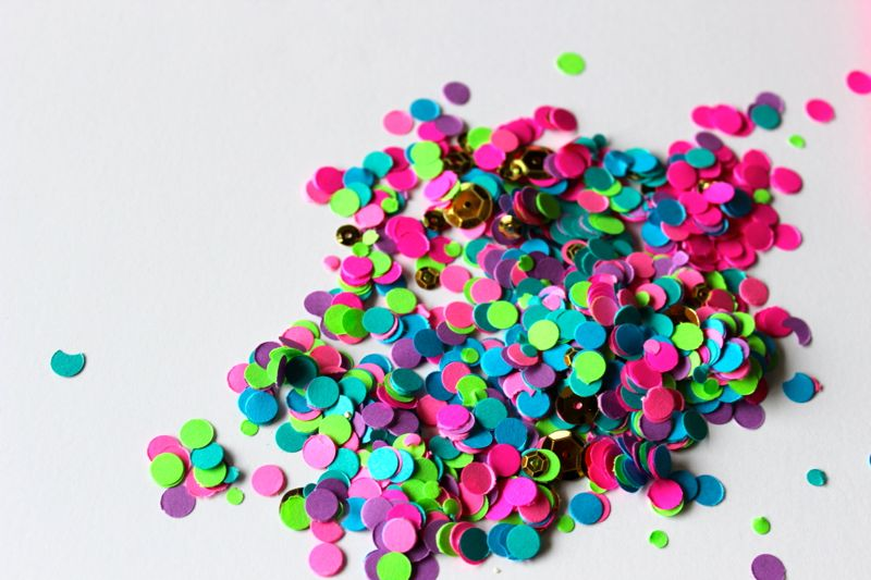 NYE confetti