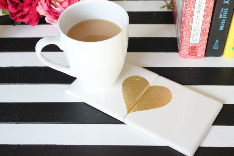 gold-gilding-hearts-diy-coasters-valentines-day