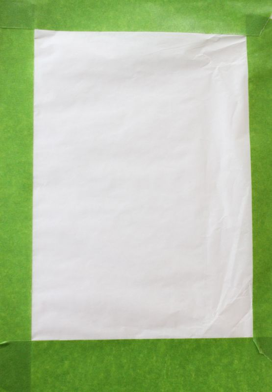 white-tissue-paper-green-tape