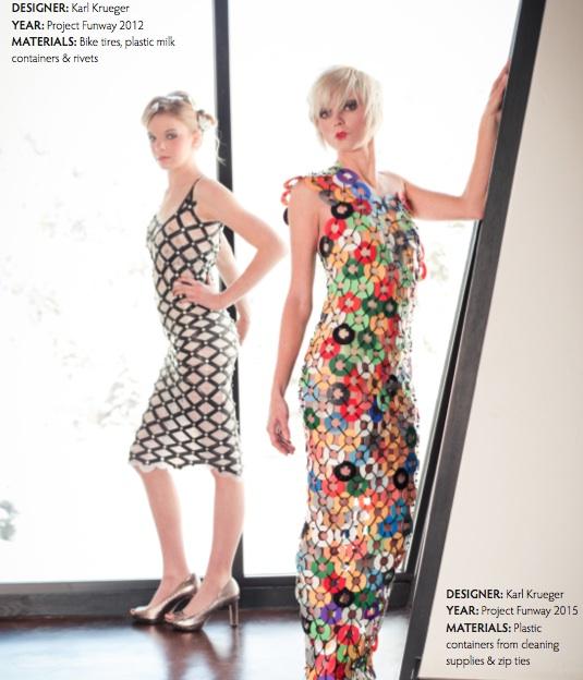 model-plastic-bottle-dress-runway-ready