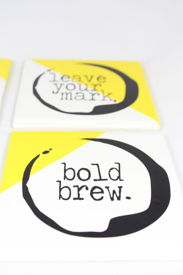 coffee-stain-coasters-yellow-white-black-bold-brew