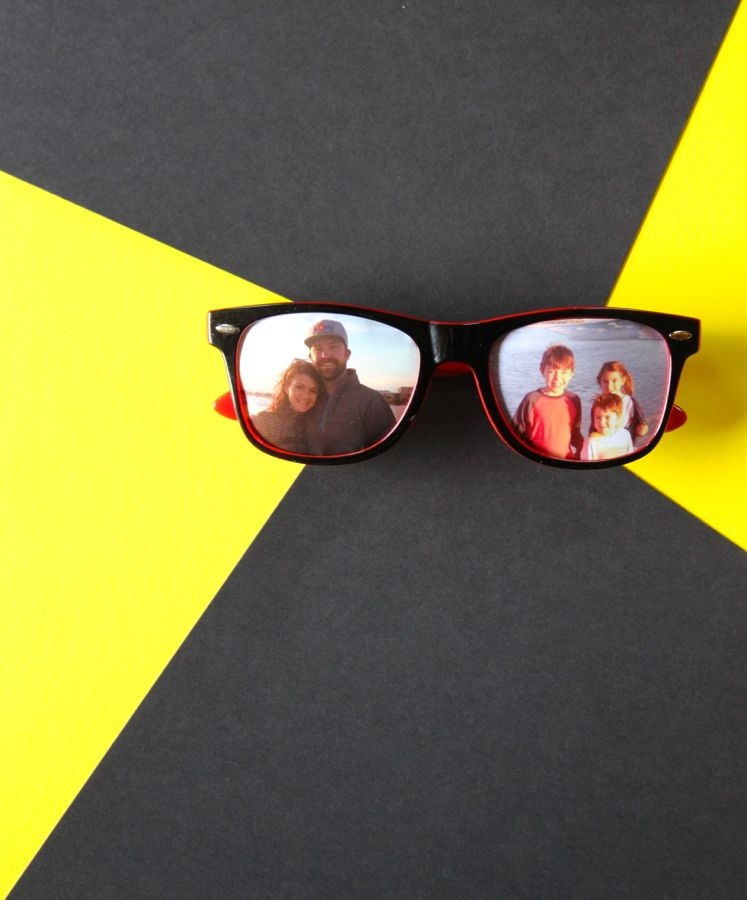 diy-sunglasses-photo-frame