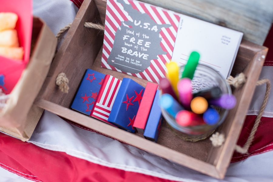 july-4th-red-white-blue-kid-family-picnic-astrobrights-paper-diy-matchbox-sparklers-stars-stripes-military-postcards