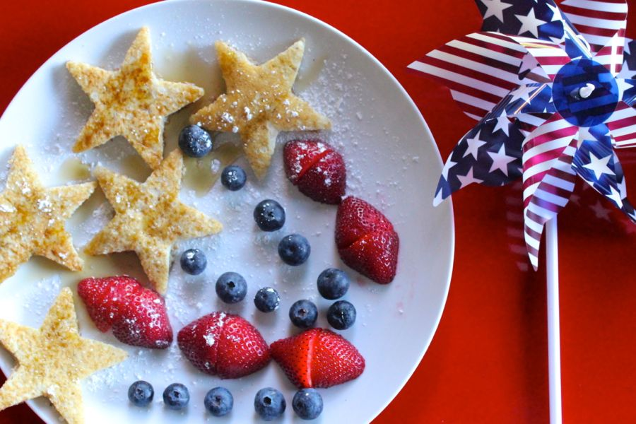 gluten-free-pancakes-july-4th-firework-breakfast-blueberry-strawberry