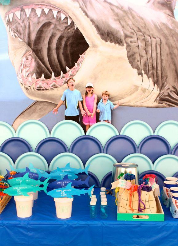 shark-party-wall-mural-kids-swim-