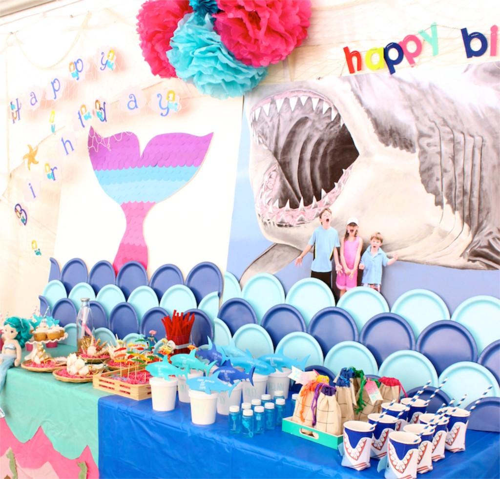 shark-party-mermaid