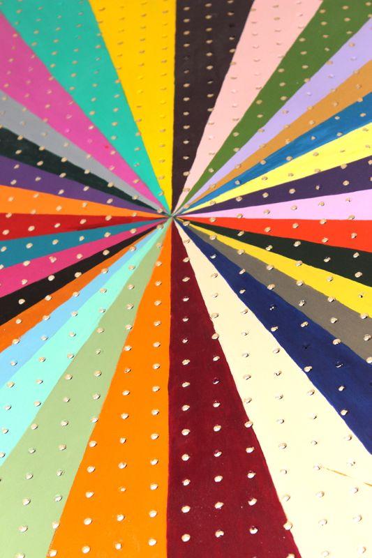 diy-peg-board-art-paint-colors-vanishing-point-quote