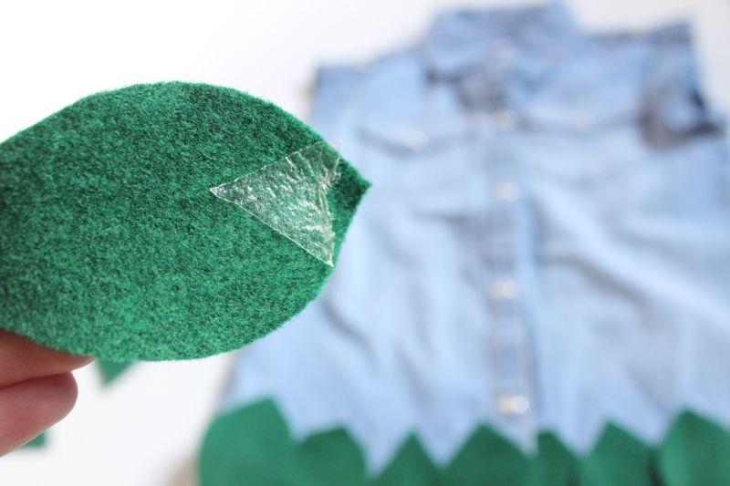 green-leaves