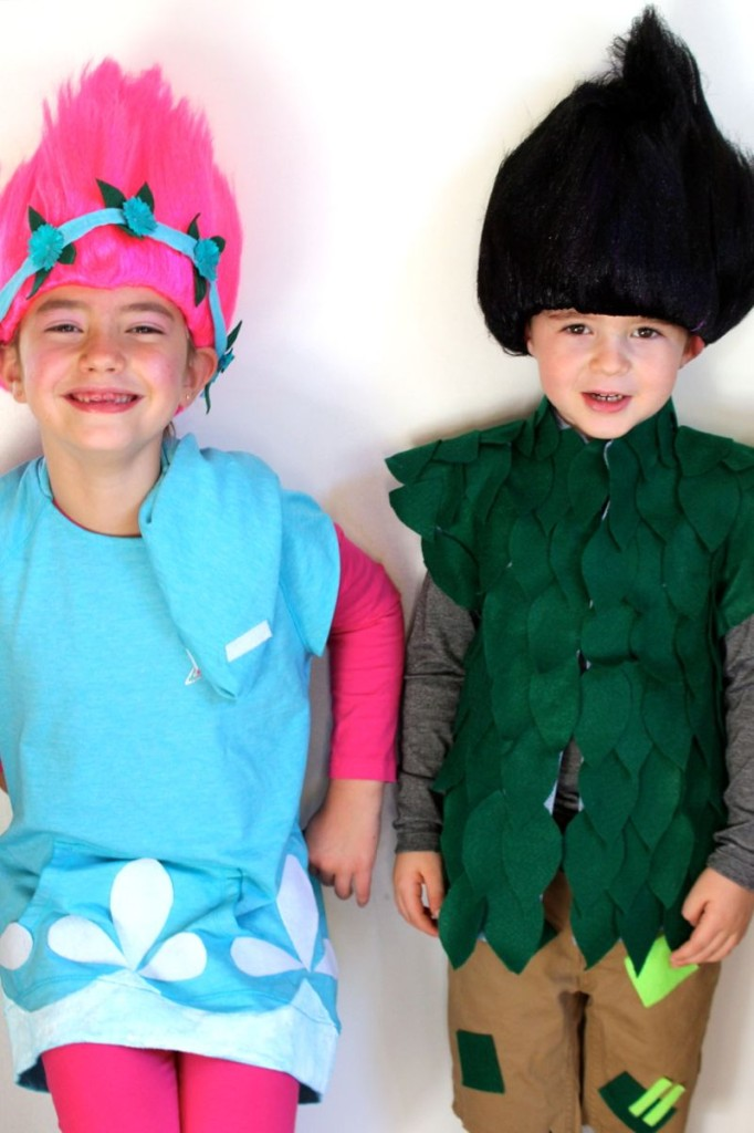DIY Trolls Halloween Costume