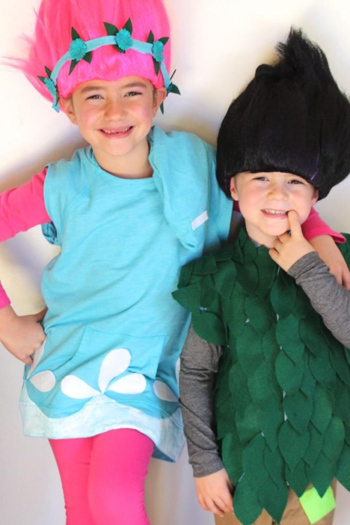 Diy trolls halloween costume solutioingenieria Image collections