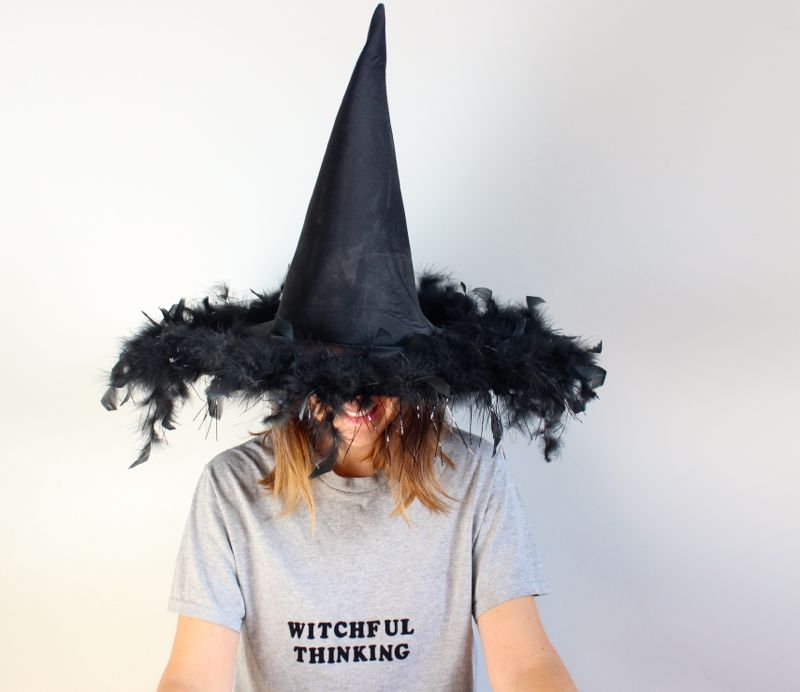witchful-thinking-tee-diy-grey-shirt-witch-hat
