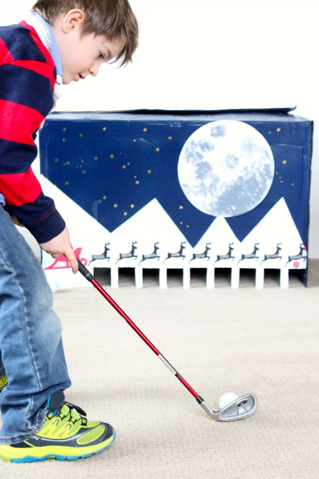 diy-indoor-golf-game-for-kids-cardboard-box