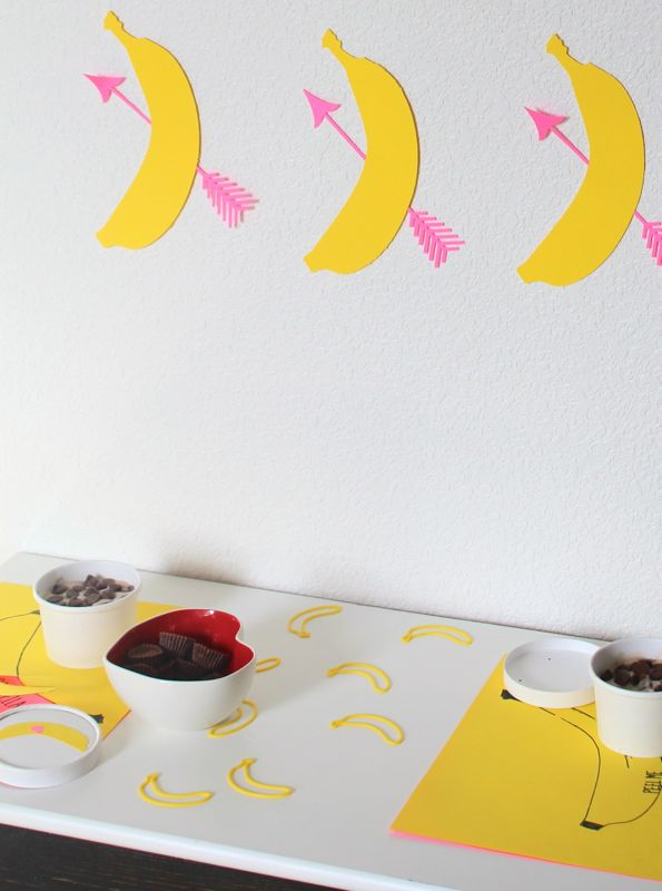bananas-for-you-yellow-valentines-day-party-kid-birthday-hearts-cupids-arrow