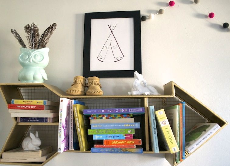 scandinavian-nursery-girls-room-love-antlers-modern-woodland-arrow-shelf