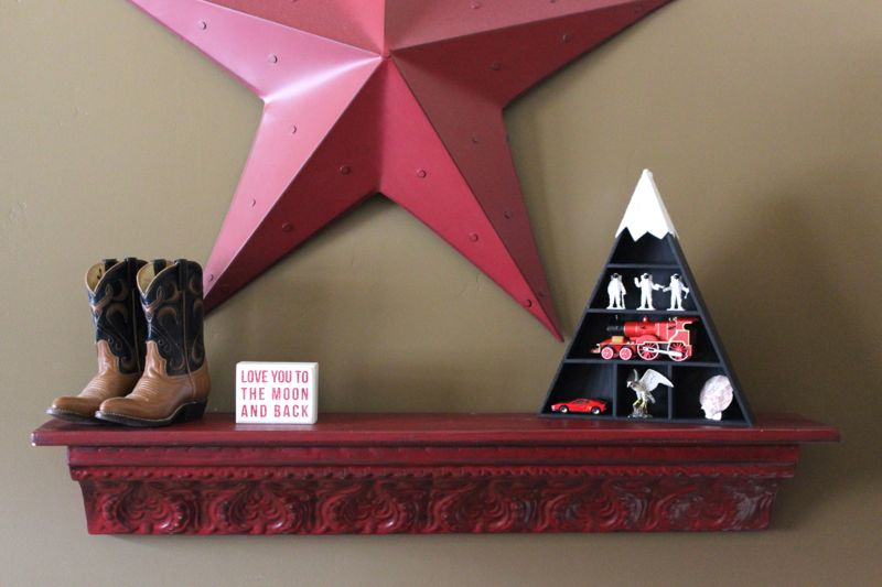 red-star-cowboy-boots-shelf-black-triangle-diy-mountain-toys