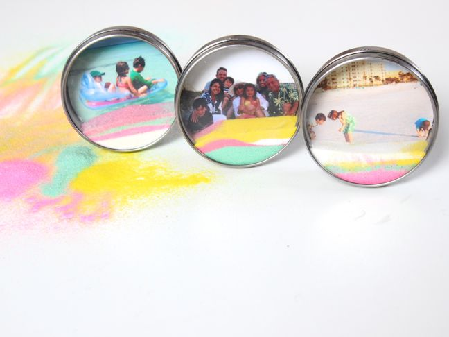 diy-sand-art-and-ikea-magnet-photo-frames