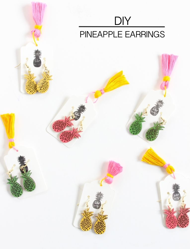 simple easy diy earrings thatgirlarlene post blog