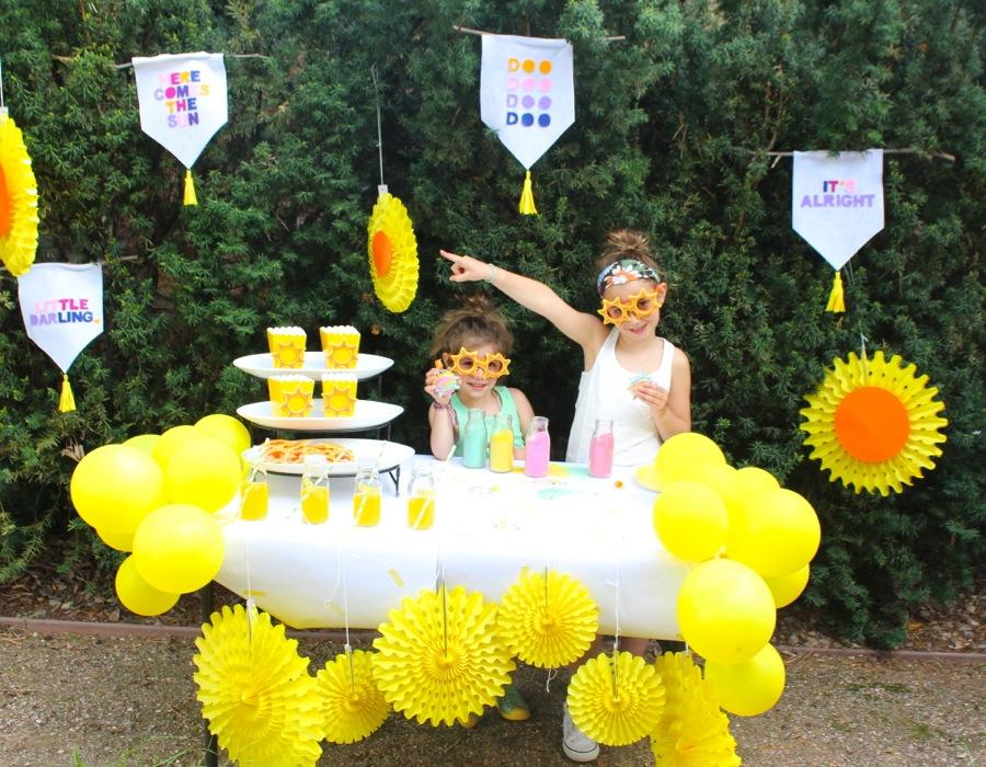 here-comes-the-sun-yellow-sun-felt-banner